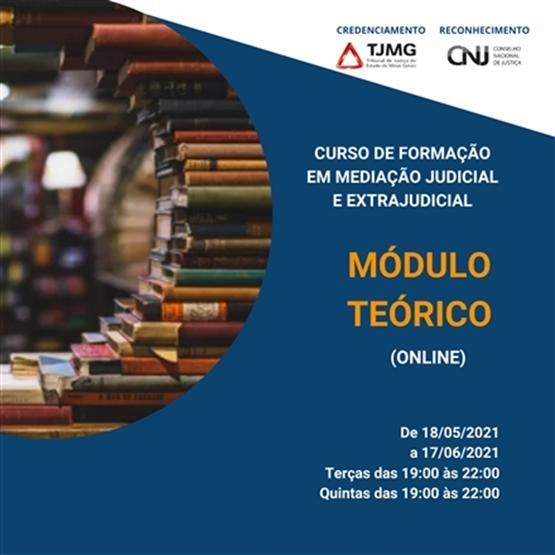 Curso de Formação em Mediação Judicial e Extrajudicial - Módulo Teórico Online (T14)